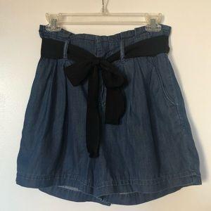 GAP paper bag high waisted shorts